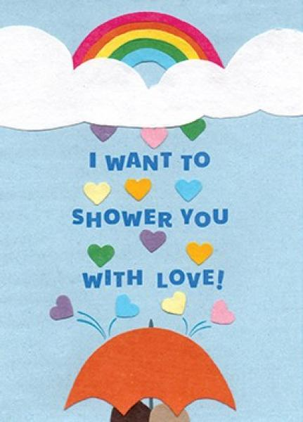 Shower with Love Card