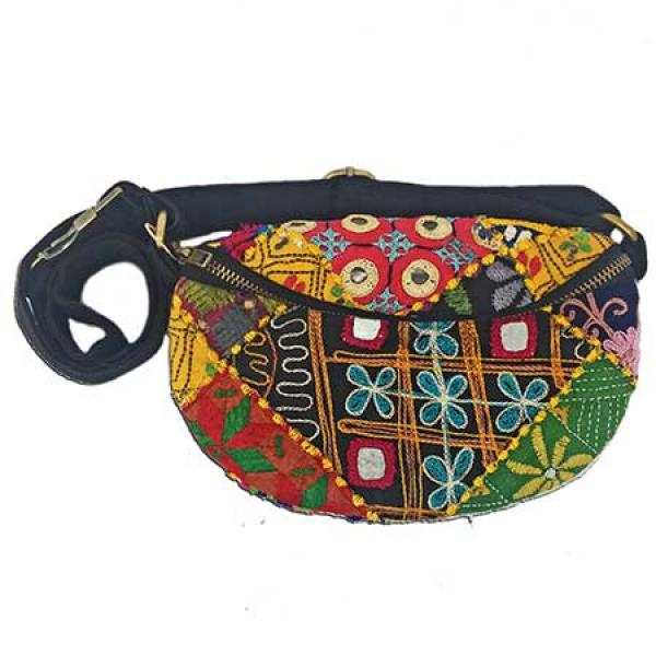 Kutch Fabric Belt Bag