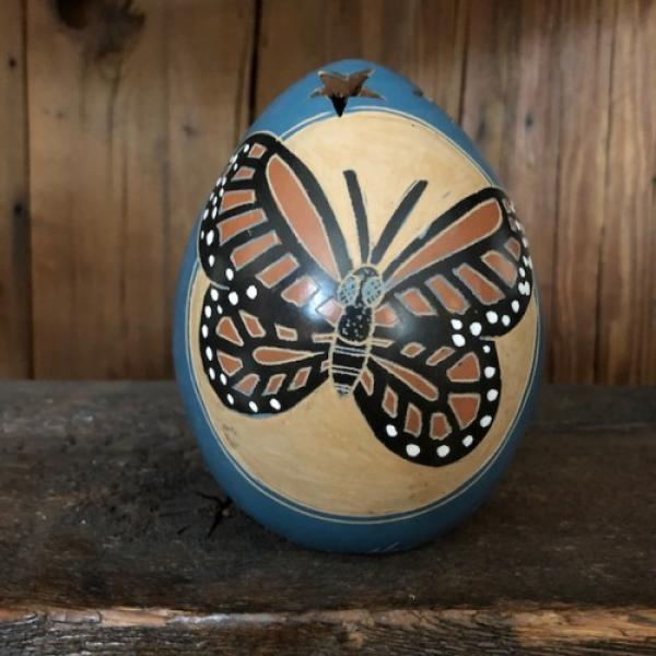 Mini Monarch Blue Luminary