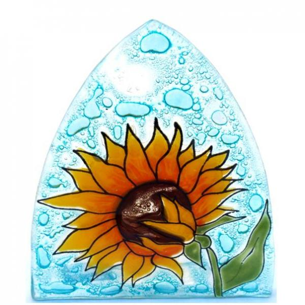 Sunflower Fused Glass Night Light