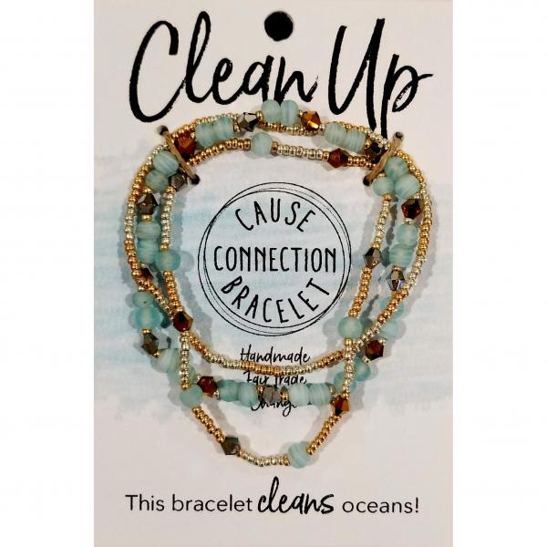 Cause Bracelet for Clean Oceans