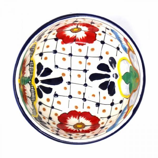Dots & Flowers Bowl