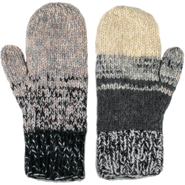 Altiplano Fleece-lined Alpaca Mittens