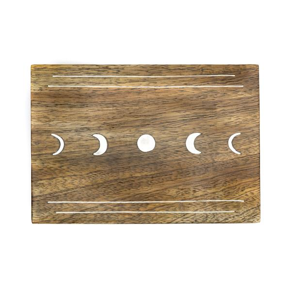 Indukala Moon Phases Jewelry Box