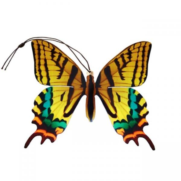 Tiger Swallowtail Butterfly Ornament Bookmark