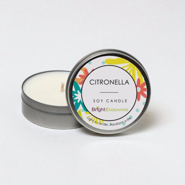 Citronella Outdoor Candle - 4 Ounce Tin