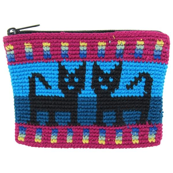 Crochet Cotton Cat Coinpurse