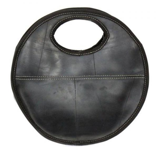 Recycled Tire Round Handbag