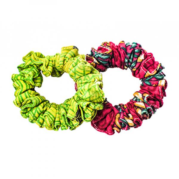 Sari Chic Mini Scrunchies