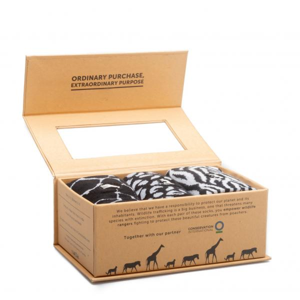 Socks That Protect Wild Animals Gift Box