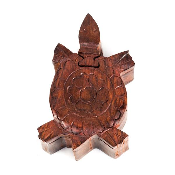 Turtle Wooden Puzzle Box