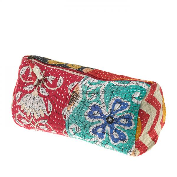 Medium Kantha Toiletries Bag