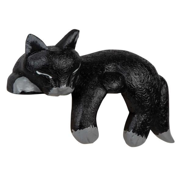 Black Napping Shelf Cat