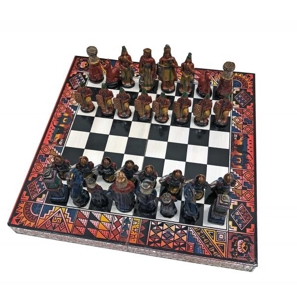 Peruvian Travel Chess Set