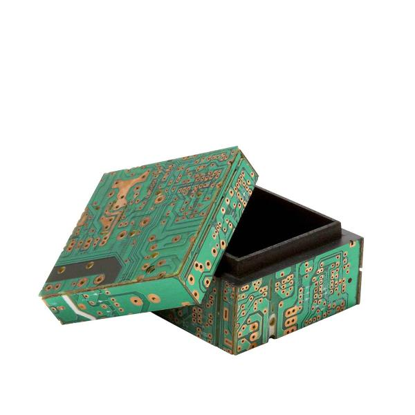 Circuit Board Keepsake Box