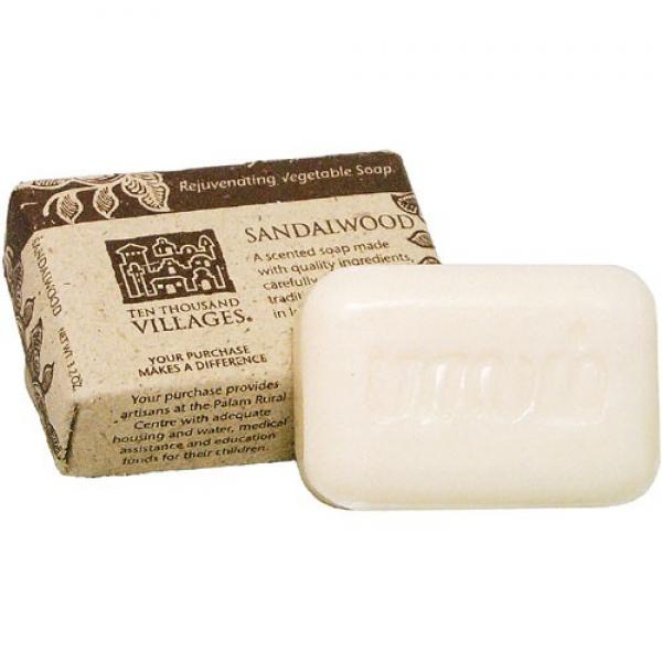 Sandalwood Scented Bar Soap