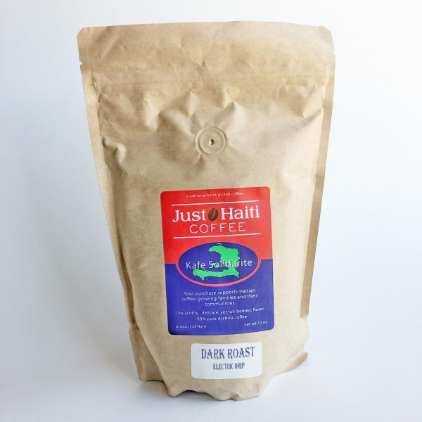Just Haiti Dark Roast Ground Coffee
