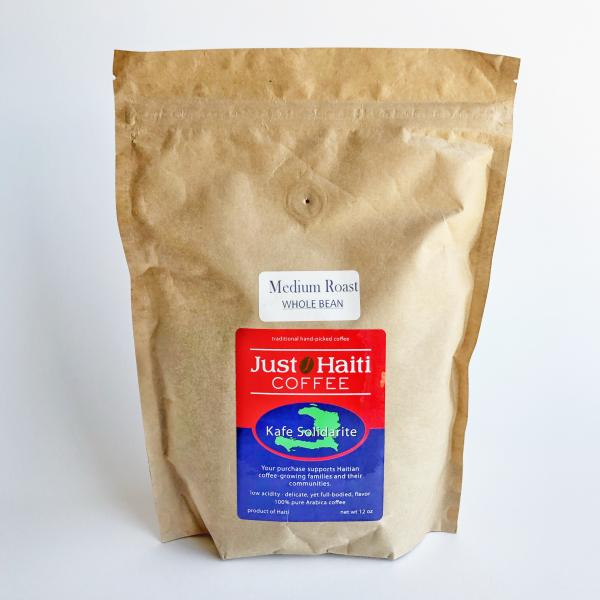Just Haiti Medium Roast Whole Bean Coffee