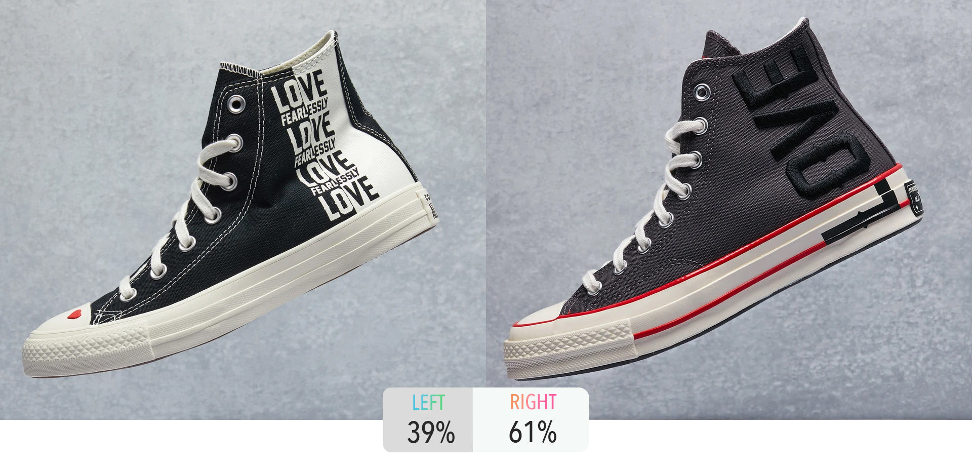 Drop 2 Drop, Dropkick - Converse Love Fearlessly Shoe