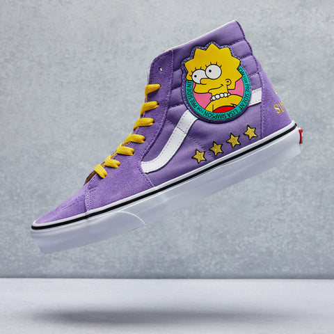 The Simpsons Sk8-Hi Shoe