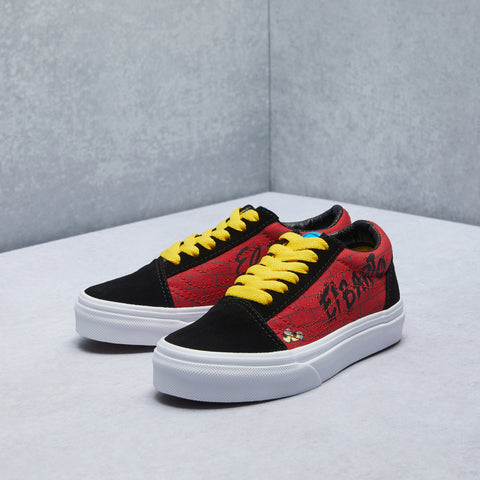 The Simpsons Old Skool Shoe (Grade School)