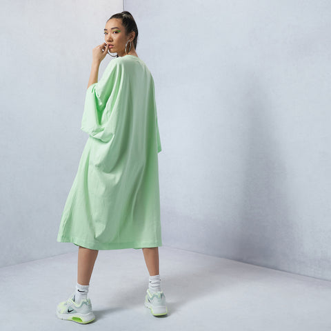 Sportswear Oversized Short-Sleeve Dress