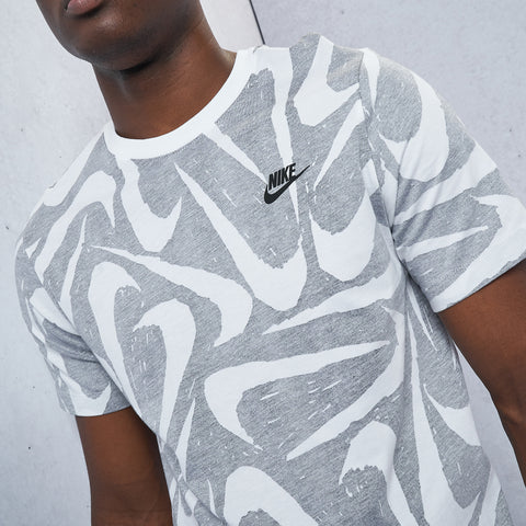 Sportswear Hand Drawn All-Over Print Tee