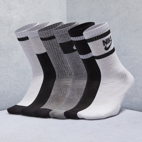 Everyday Cushioned Crew Socks (6 Pack)