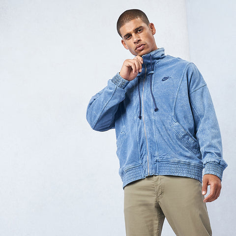 Sportswear Re-Issue Washed Knit Jacket