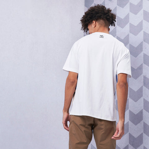 Big Trefoil Colourblock Tee