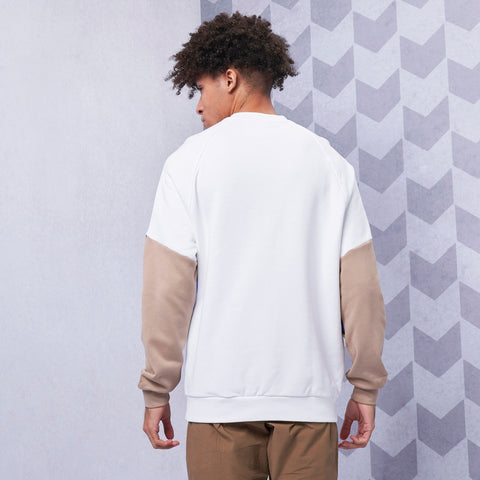 Big Trefoil Outline Crew Sweatshirt