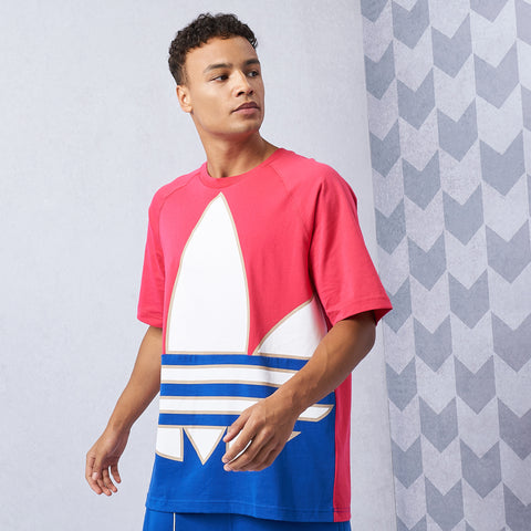Big Trefoil Colorblock Tee