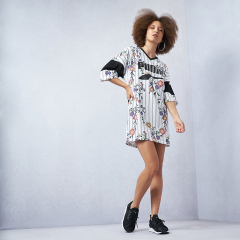 Downtown Allover Print Dress