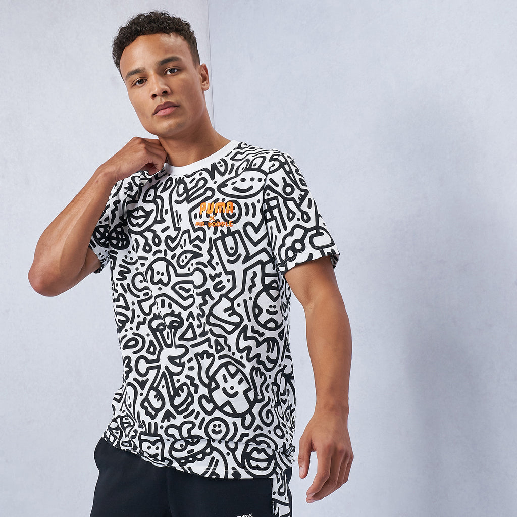 MR DOODLE Allover Print Tee