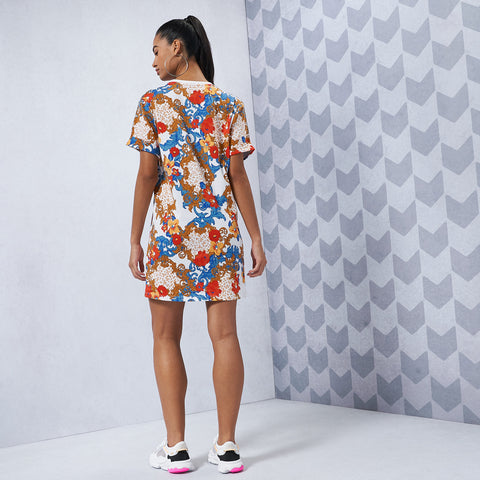 Trefoil Tee Dress