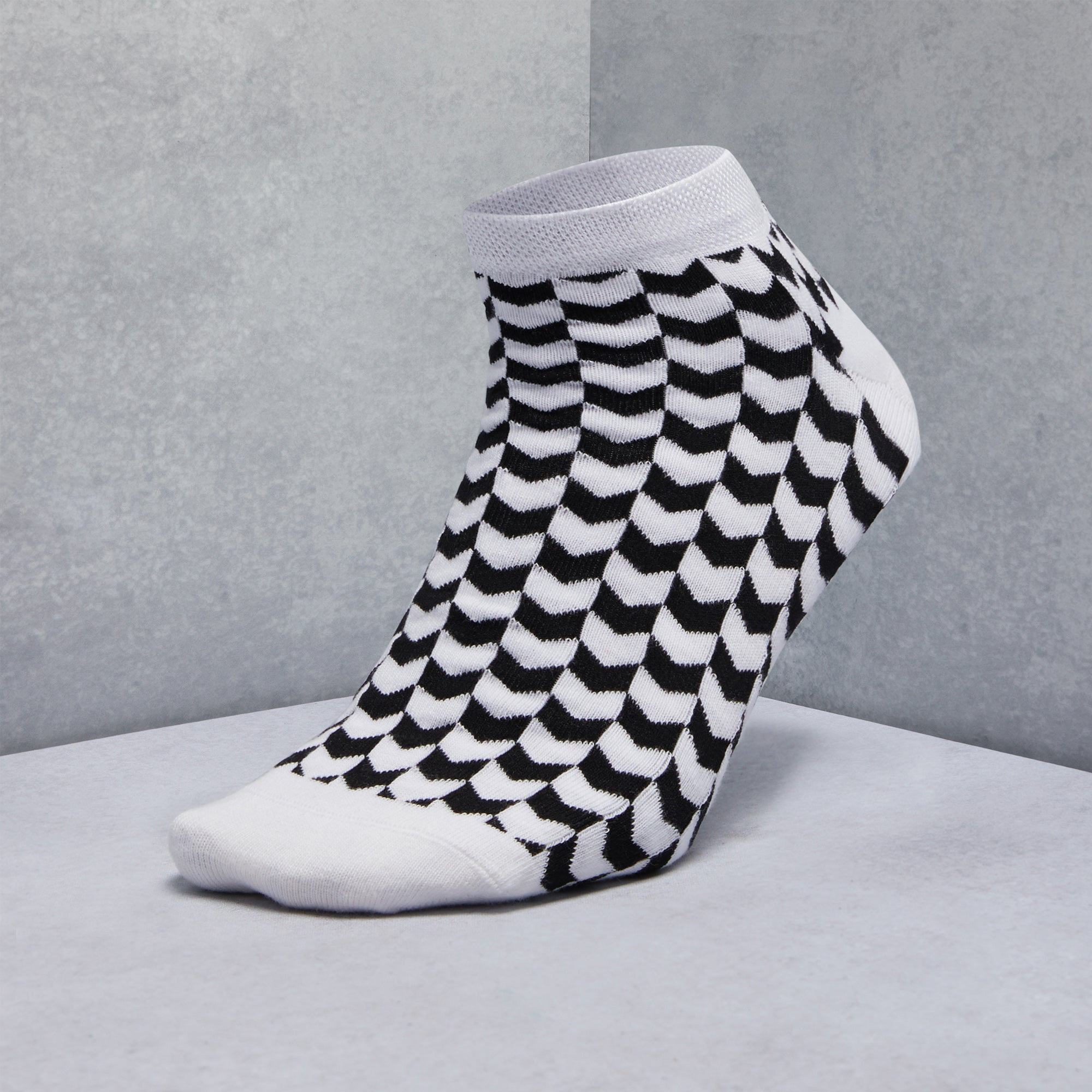 Allover Chevron Single Sock