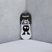 Angry Logo Single Sock