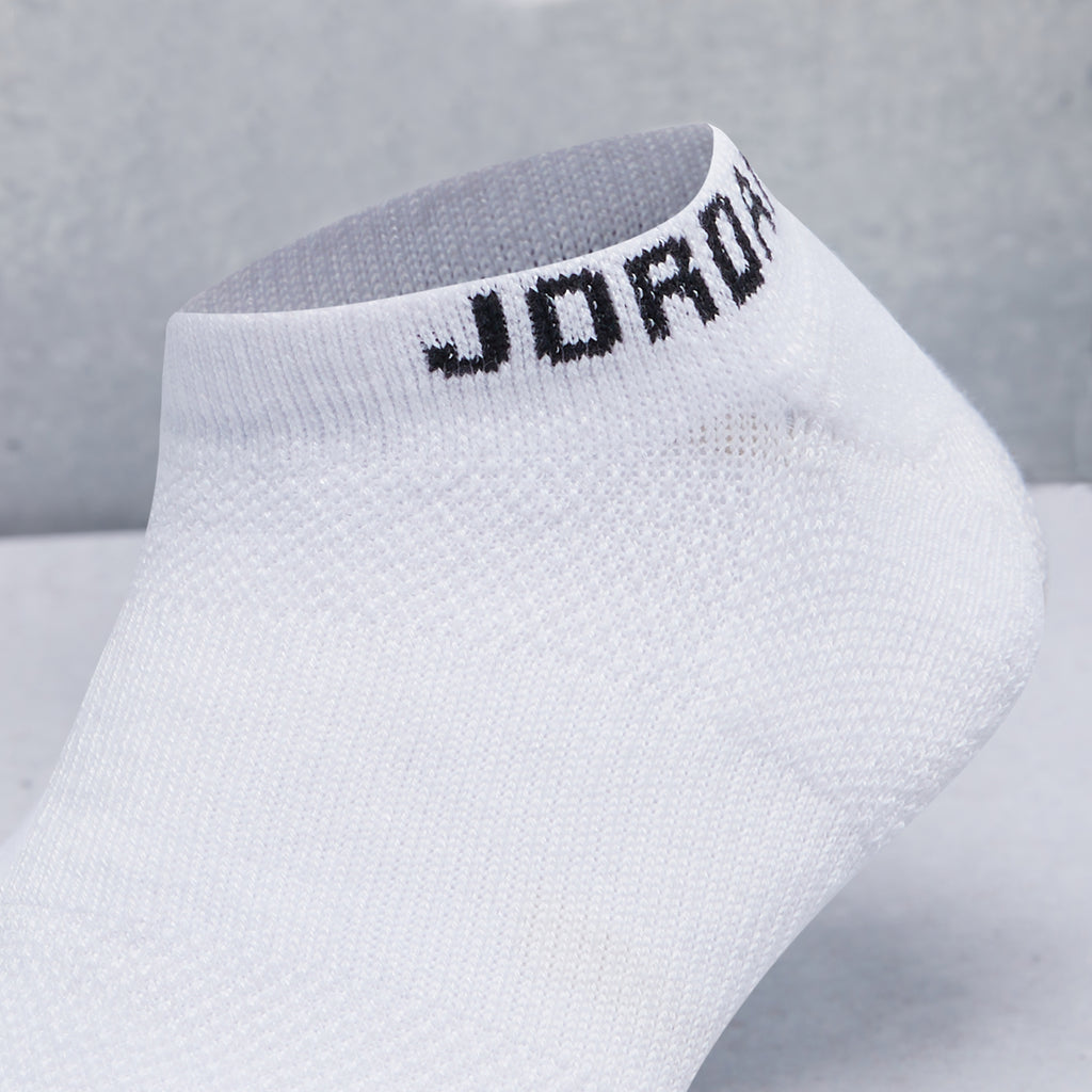Jumpman No-Show Socks (3 Pack)