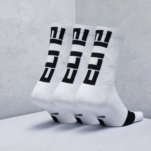 Elite Crew Socks (3 Pack)