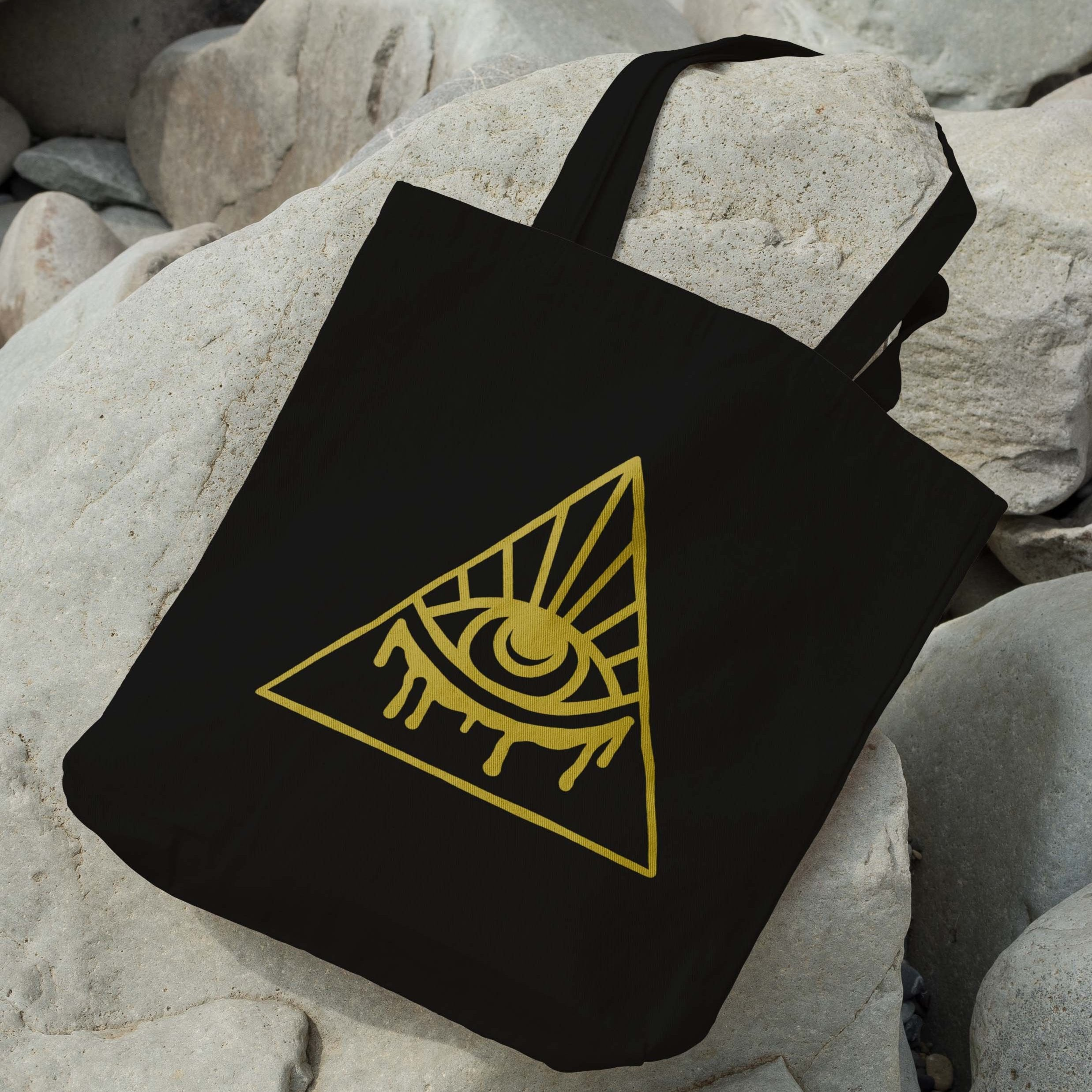 EVOL-EYE Logo Zipper Tote