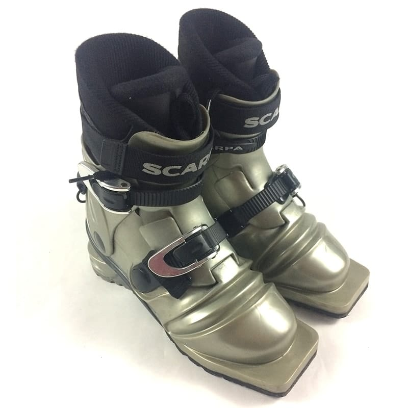 23.0 Scarpa T3 (US Men's 5/Women's 6) 75mm Telemark Boots - USED