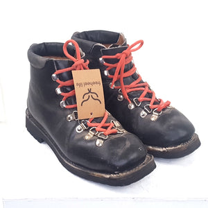 25.5 Alpina leather boots 75mm 3 pin - USED