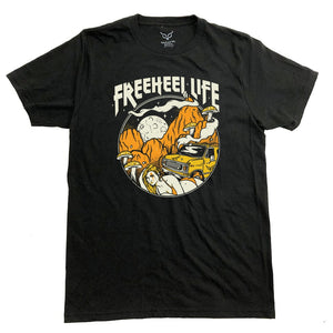 "Freeheel Life ""Road Trippin"" T-Shirt - Black"