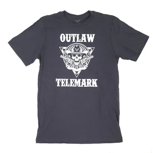 """Outlaw Telemark"" T-Shirt - Grey"