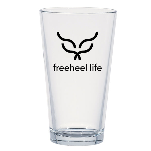 Freeheel Life Pint Glass