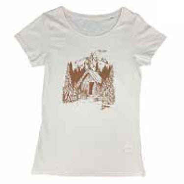 Ladies Forest T-Shirt - Vintage White