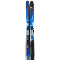182cm Black Diamond Zealot W/ Black Diamond O2 (Used)