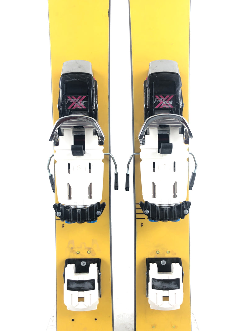 190cm DPS Wailer 112RP W/ Lg Rottefella Freeride W/ blue carts (Used)