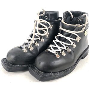 Size 4 Fabiano Double Leather Boots (Used)