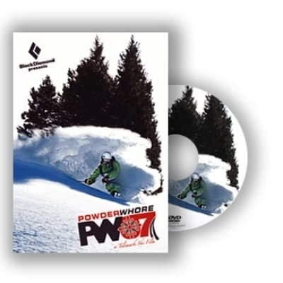 Powderwhore PW07 - Telemark Movie DVD